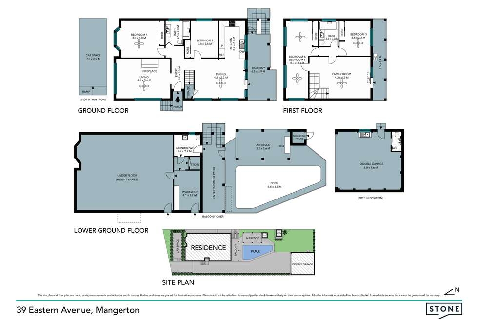 Floorplan of Homely house listing, 39 Eastern Avenue, Mangerton NSW 2500