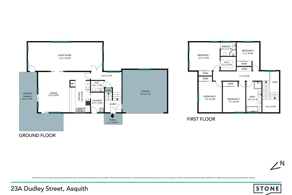 Floorplan of Homely house listing, 23A Dudley Street, Asquith NSW 2077
