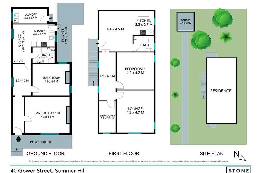 Floorplan of Homely house listing, 40 Gower Street, Ashfield NSW 2131