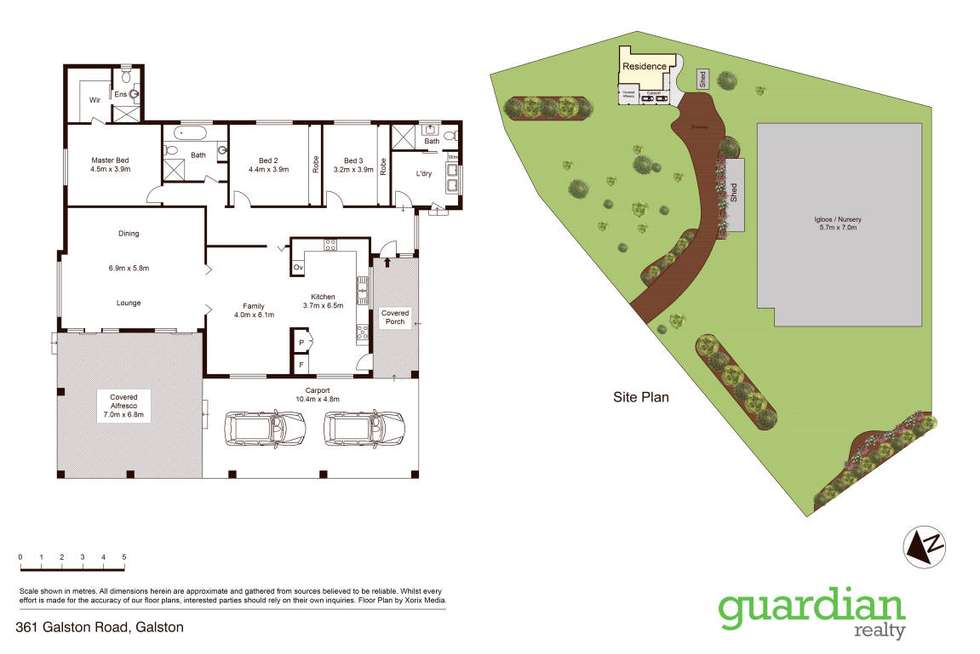 Floorplan of Homely house listing, 361 Galston Road, Galston NSW 2159