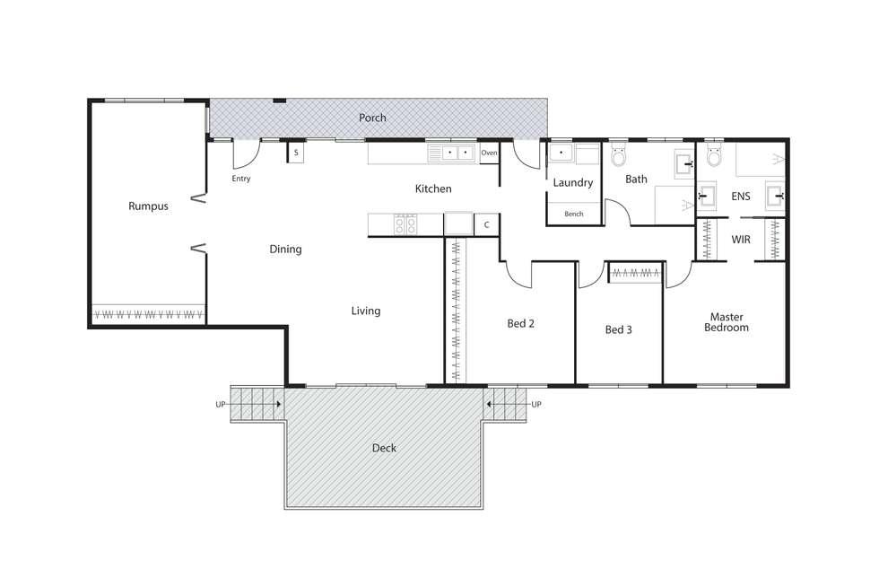 Floorplan of Homely house listing, 33 Maclagan Street, Isaacs ACT 2607