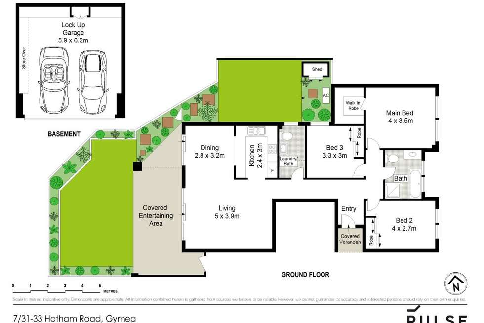Floorplan of Homely unit listing, 7/31-33 Hotham Road, Gymea NSW 2227