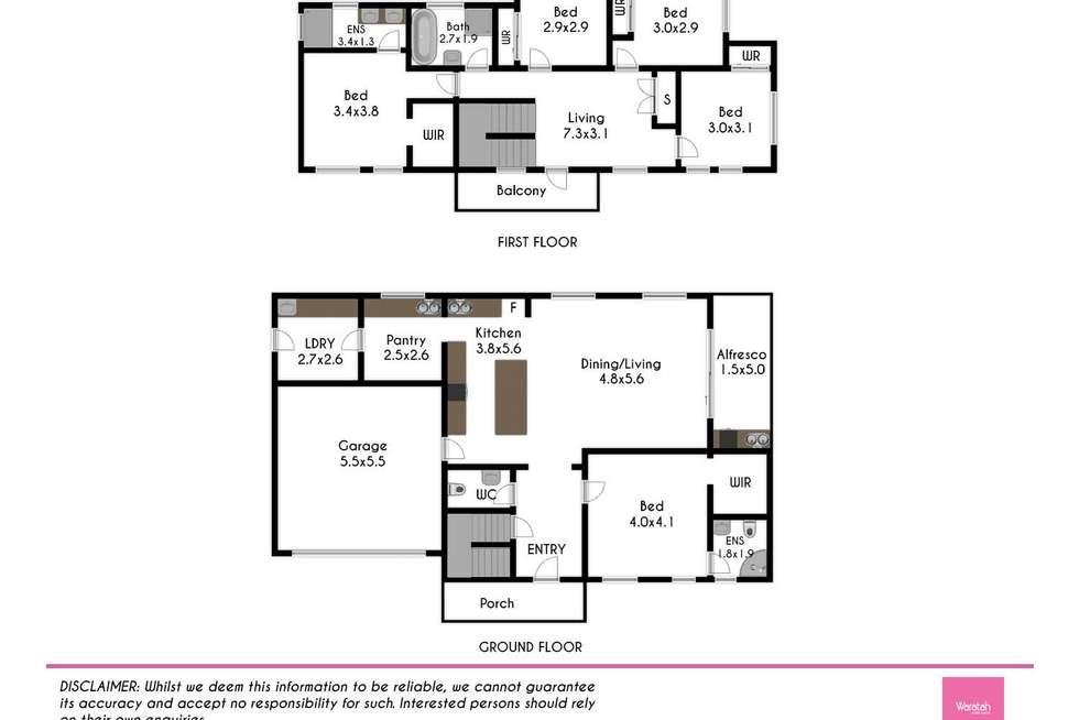 Floorplan of Homely house listing, 24 Deguara Street, Schofields NSW 2762
