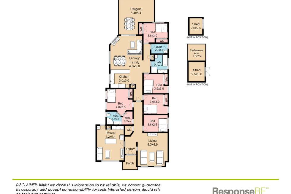 Floorplan of Homely house listing, 116 Woodriff Street, Penrith NSW 2750