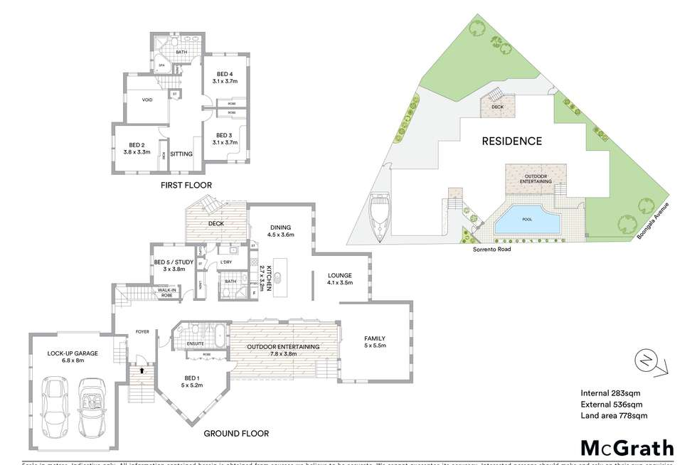 Floorplan of Homely house listing, 11 Sorrento Road, Empire Bay NSW 2257