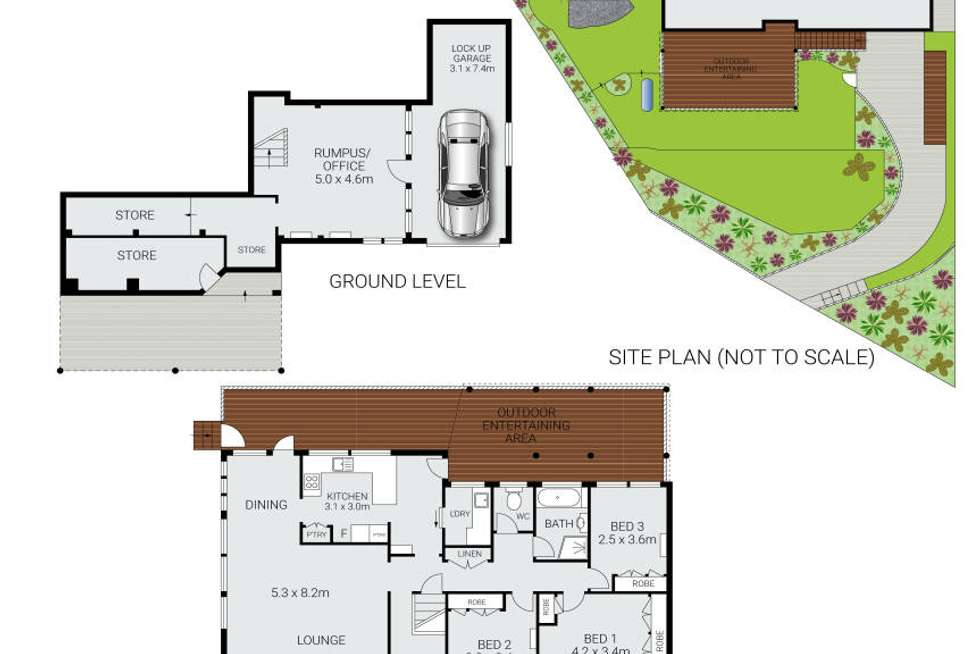 Floorplan of Homely house listing, 7 Dresden Avenue, Beacon Hill NSW 2100