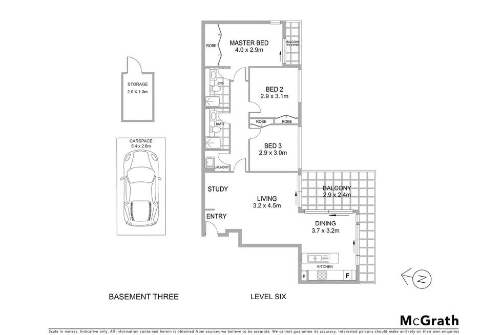 Floorplan of Homely apartment listing, 92/117 Pacific Highway, Hornsby NSW 2077