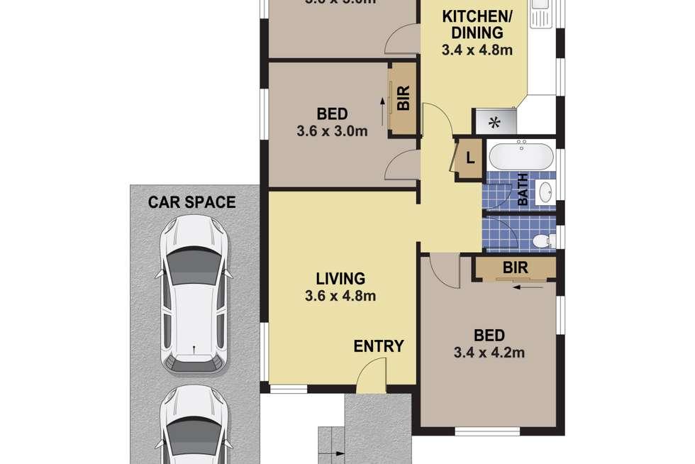 Floorplan of Homely house listing, 47 Beaumont Street, Auburn NSW 2144
