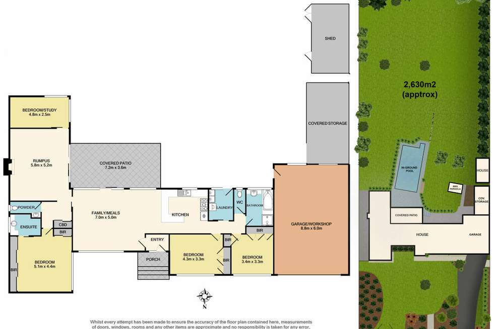 Floorplan of Homely house listing, 71-73 Finmere Crescent, Upper Ferntree Gully VIC 3156