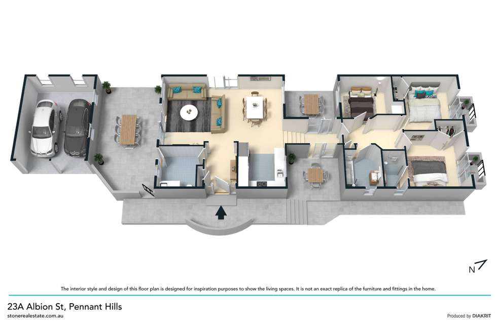 Floorplan of Homely house listing, 23A Albion Street, Pennant Hills NSW 2120