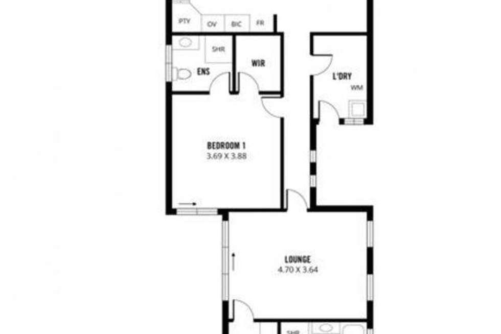 Floorplan of Homely house listing, 37 Dumfries Avenue, Northfield SA 5085