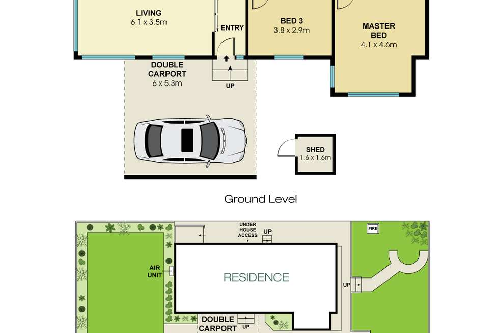 Floorplan of Homely house listing, 183 McIntosh Road, Beacon Hill NSW 2100