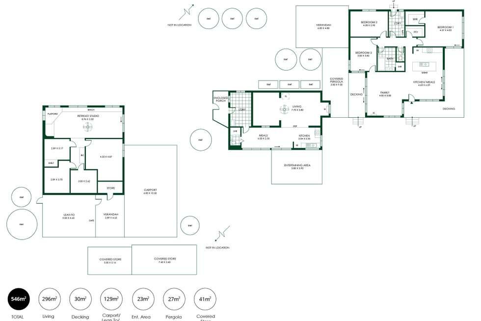 Floorplan of Homely house listing, 1390 Randell Road, Palmer SA 5237