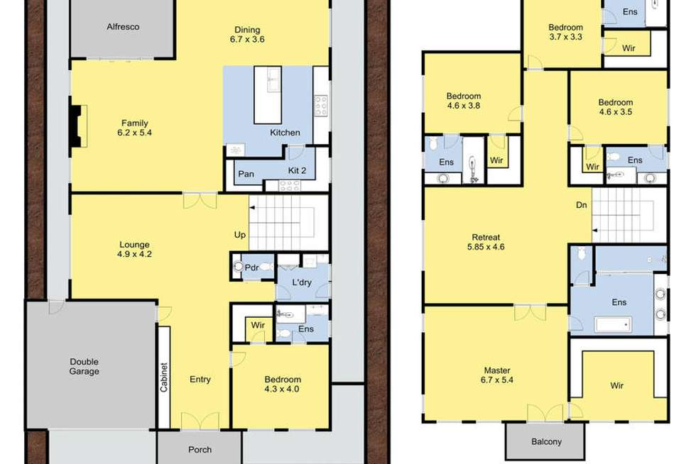 Floorplan of Homely house listing, 8 Fraser Street, Glen Waverley VIC 3150