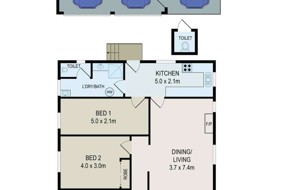 Floorplan of Homely house listing, 21 Mccredie Road, Guildford NSW 2161