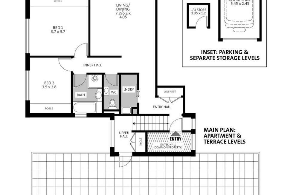 Floorplan of Homely apartment listing, 15/5-13 Belgrave Street, Cremorne NSW 2090