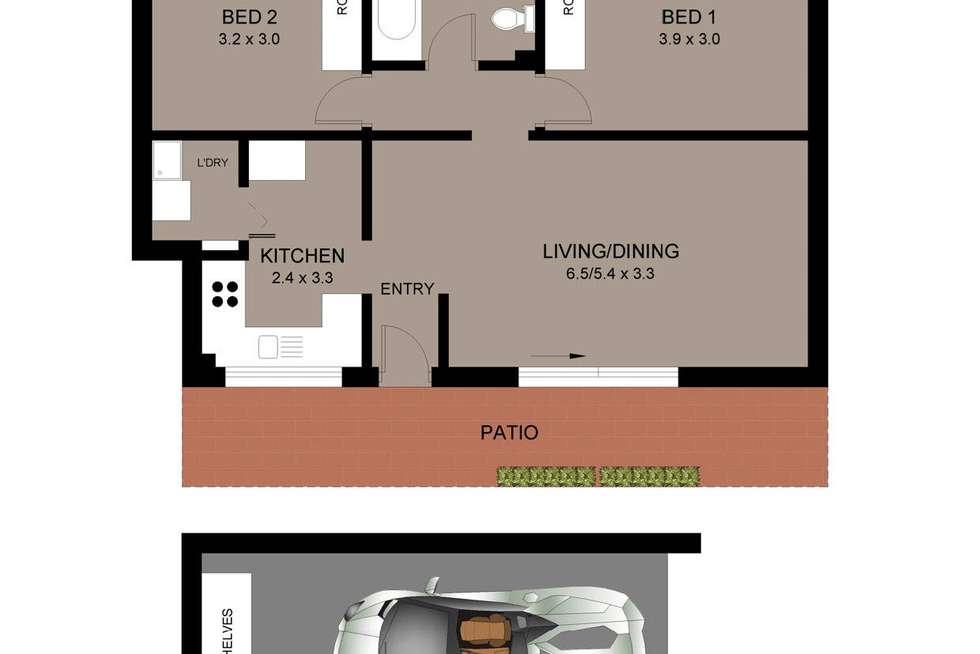 Floorplan of Homely apartment listing, 5/3 Thornton Street, Fairlight NSW 2094