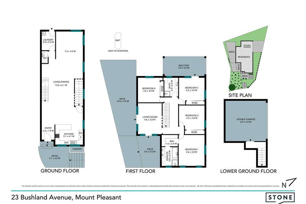 Floorplan of Homely house listing, 23 Bushland Avenue, Mount Pleasant NSW 2519