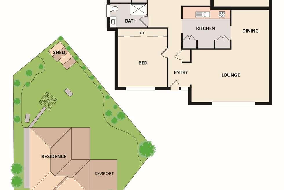 Floorplan of Homely house listing, 2 Wilga Court, Narre Warren VIC 3805