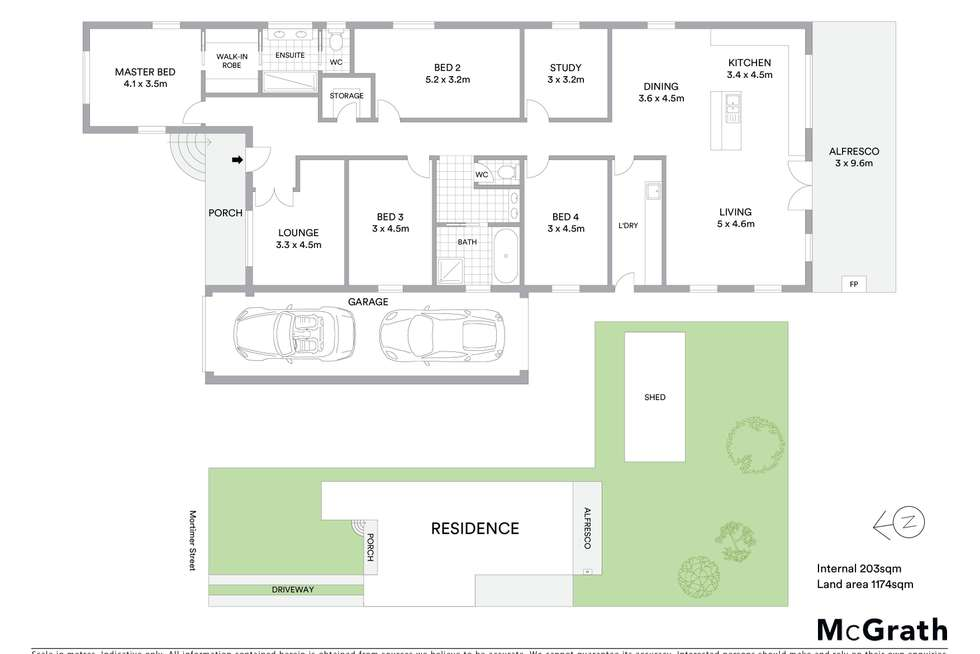 Floorplan of Homely house listing, 61 Mortimer Street, Mudgee NSW 2850