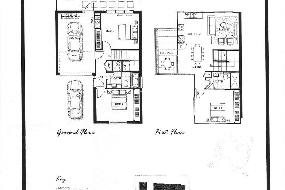 Floorplan of Homely townhouse listing, 25/85 Chapman Avenue, Glenroy VIC 3046