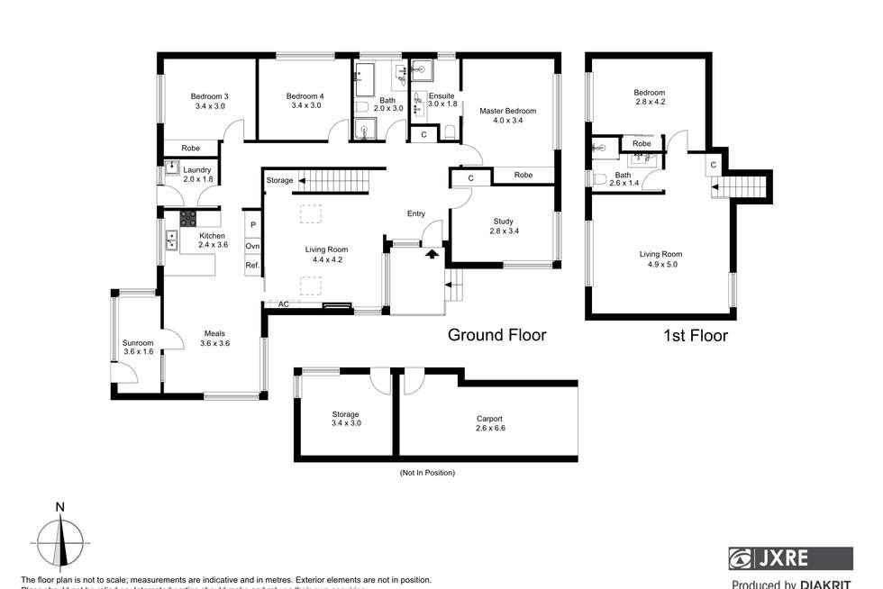 Floorplan of Homely house listing, 21 Hampstead Crescent, Glen Waverley VIC 3150