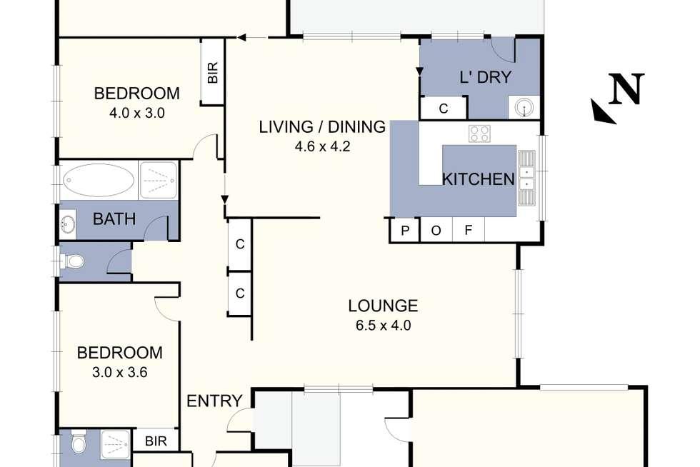 Floorplan of Homely house listing, 718 Wellington Road, Mulgrave VIC 3170