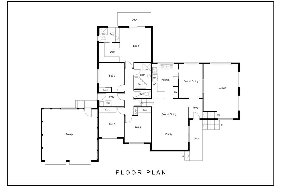 Floorplan of Homely house listing, 8/7 Mugglestone Place, Bruce ACT 2617