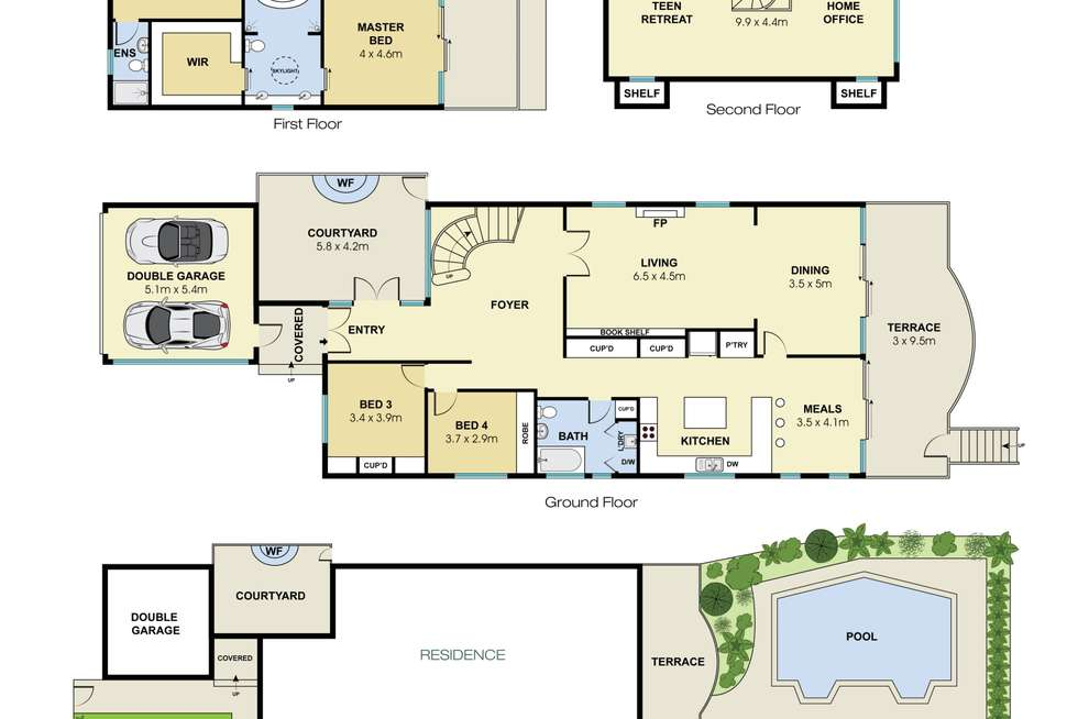 Floorplan of Homely house listing, 55 Peacock Street, Seaforth NSW 2092