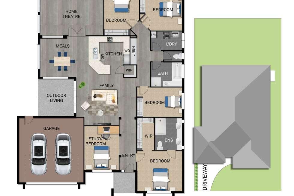 Floorplan of Homely house listing, 13 Vanessa Circuit, Pakenham VIC 3810