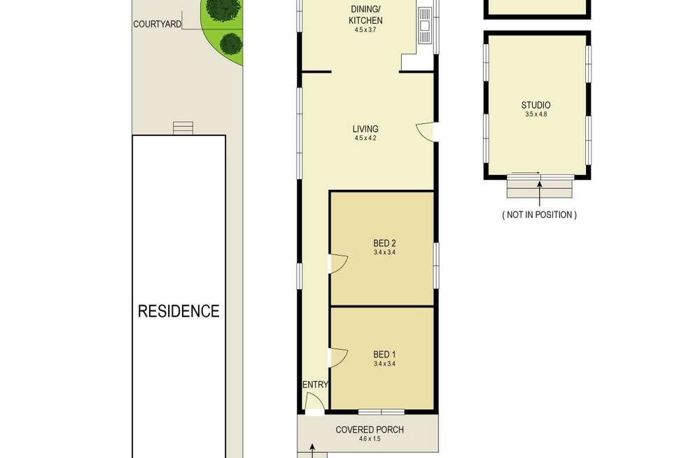 Floorplan of Homely house listing, 11 Elcho Street, Hamilton NSW 2303
