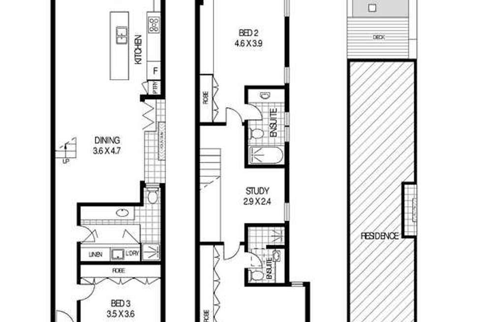 Floorplan of Homely house listing, 50 Alt Street, Queens Park NSW 2022