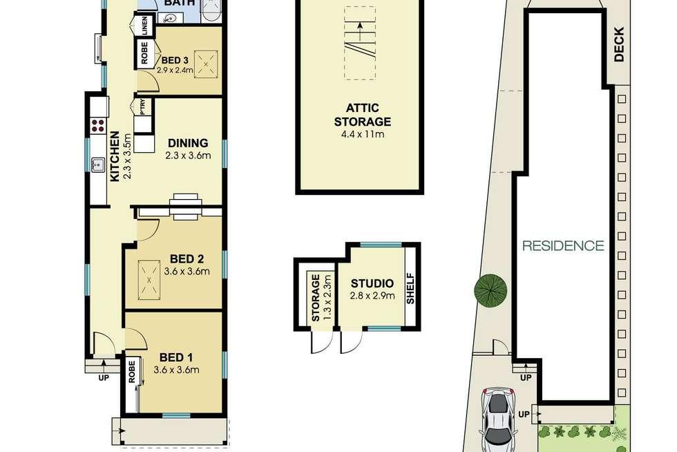 Floorplan of Homely house listing, 20 Milton Street North, Ashfield NSW 2131