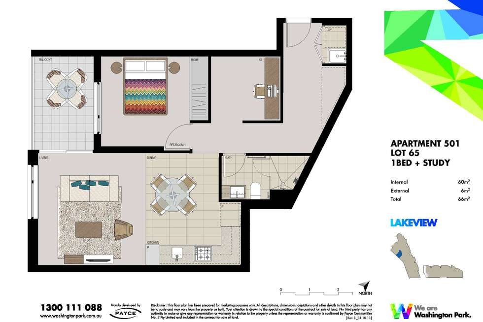 Floorplan of Homely apartment listing, 501/5 Vermont Crescent, Riverwood NSW 2210