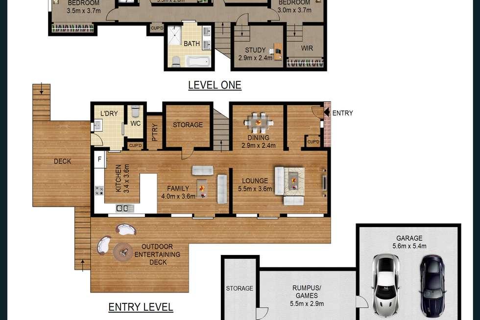 Floorplan of Homely house listing, 20 Keighran Place, Cherrybrook NSW 2126