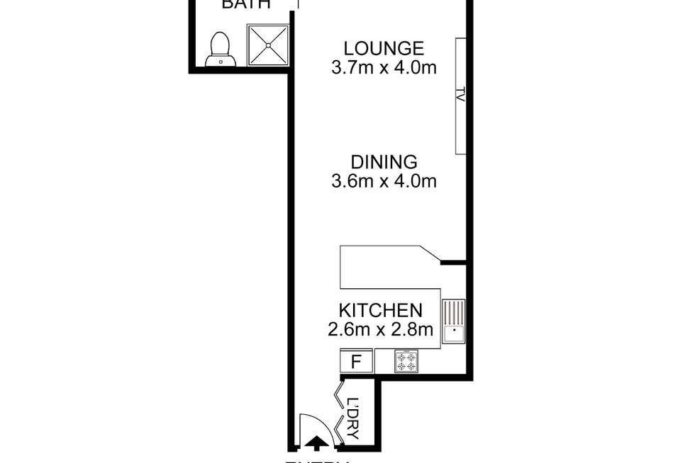Floorplan of Homely apartment listing, 501/8 Brown Street, Chatswood NSW 2067
