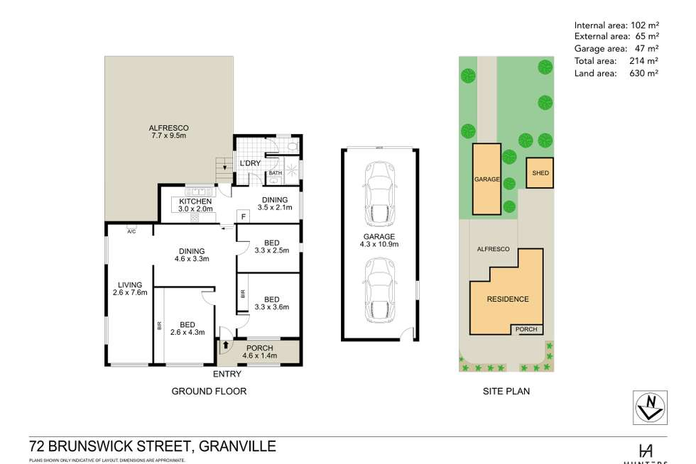 Floorplan of Homely house listing, 72 Brunswick Street, Granville NSW 2142