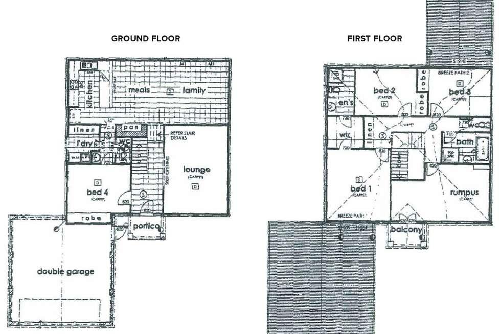Floorplan of Homely house listing, 72 Summer Drive, Buronga NSW 2739