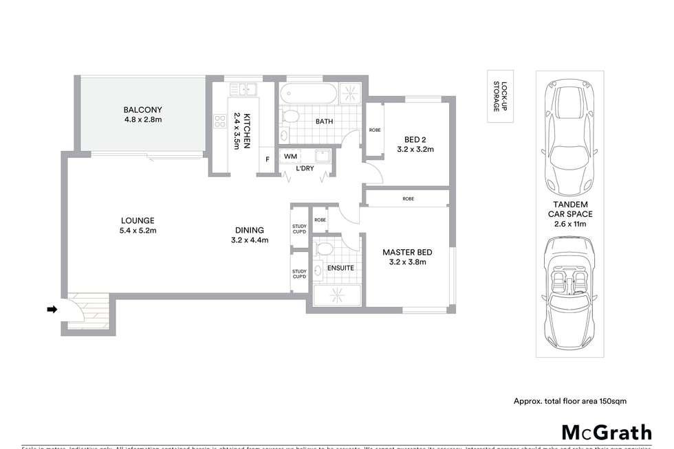 Floorplan of Homely apartment listing, 60/4-8 Bobbin Head Road, Pymble NSW 2073