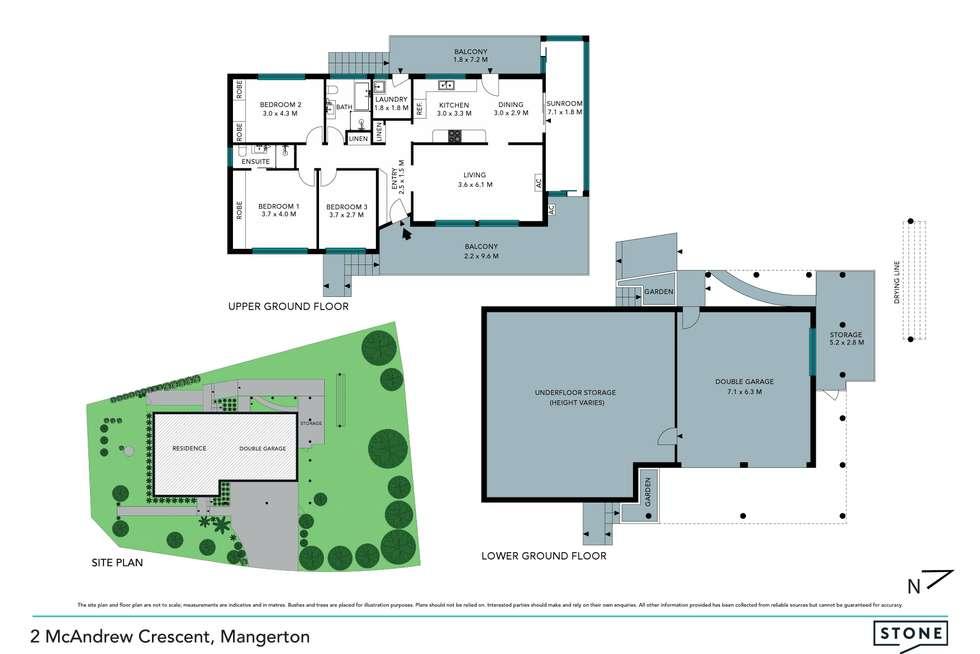 Floorplan of Homely house listing, 2 McAndrew Crescent, Mangerton NSW 2500