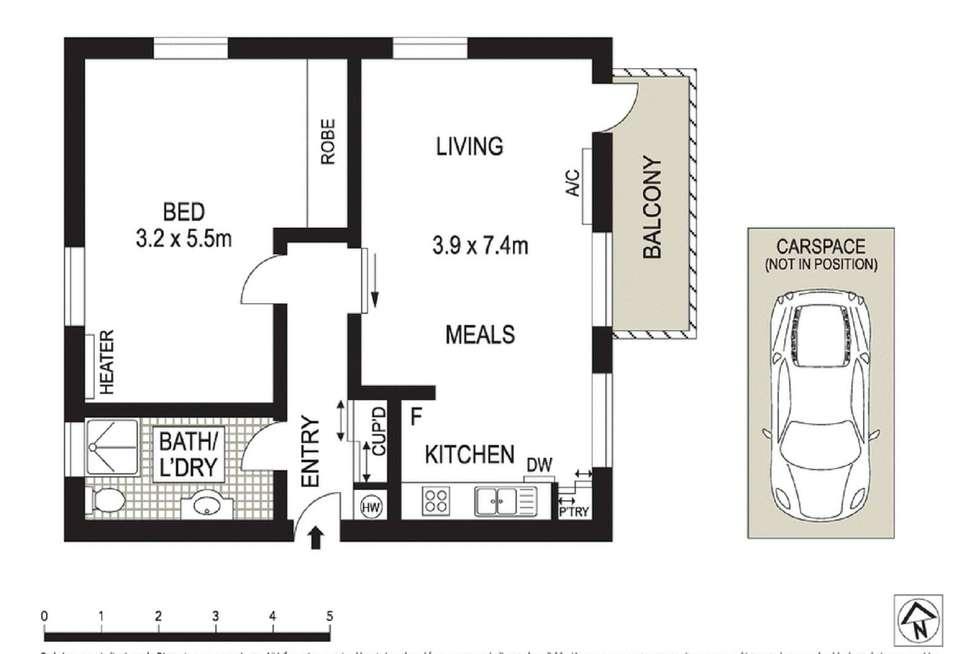 Floorplan of Homely unit listing, 6/26 Dundas Street, Thornbury VIC 3071