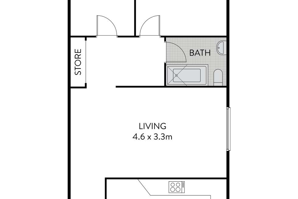 Floorplan of Homely apartment listing, 3/195 Norton Street, Ashfield NSW 2131