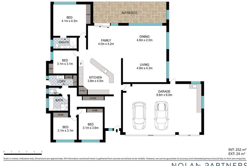 Floorplan of Homely house listing, 14 Torrens Way, North Boambee Valley NSW 2450