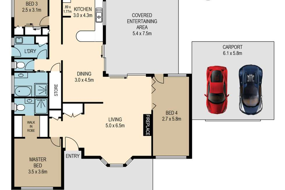 Floorplan of Homely house listing, 19 Agate Street, Camp Hill QLD 4152