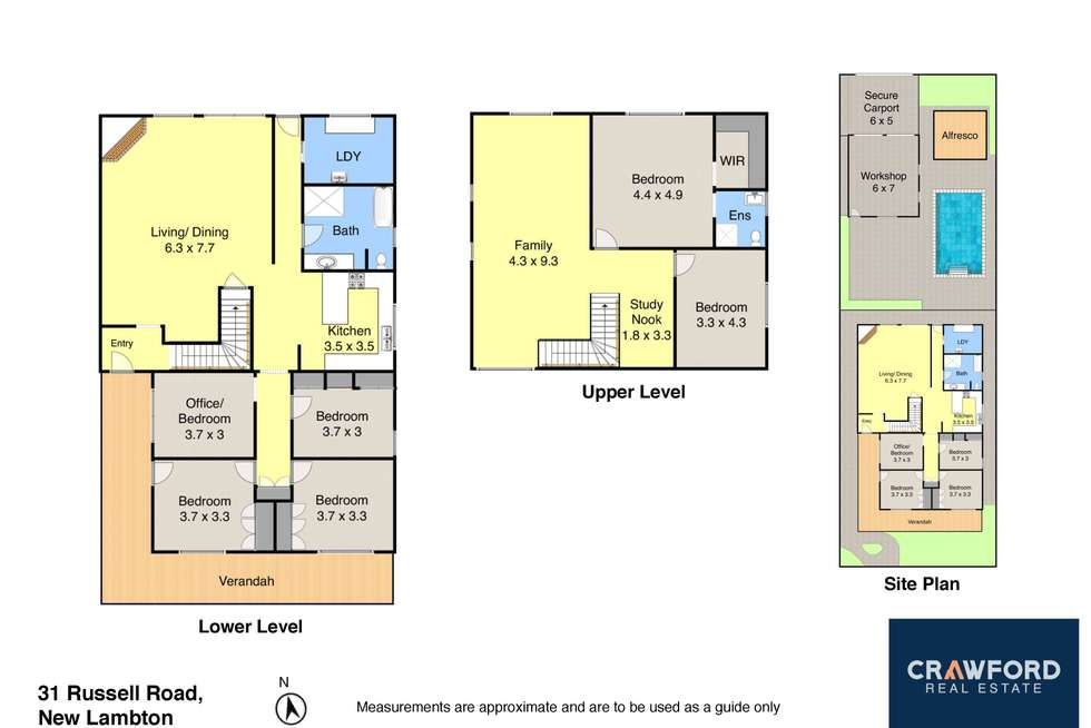 Floorplan of Homely house listing, 31 Russell Road, New Lambton NSW 2305