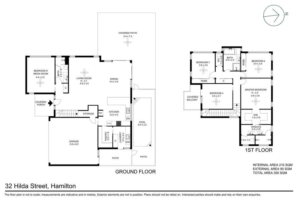 Floorplan of Homely house listing, 32 Hilda Street, Hamilton QLD 4007