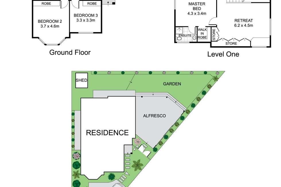 Floorplan of Homely house listing, 4 Gartfern Avenue, Wareemba NSW 2046