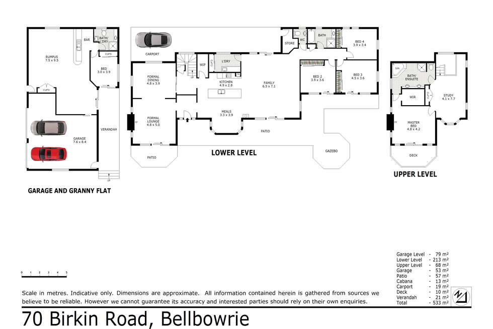 Floorplan of Homely acreageSemiRural listing, 70 Birkin Road, Bellbowrie QLD 4070