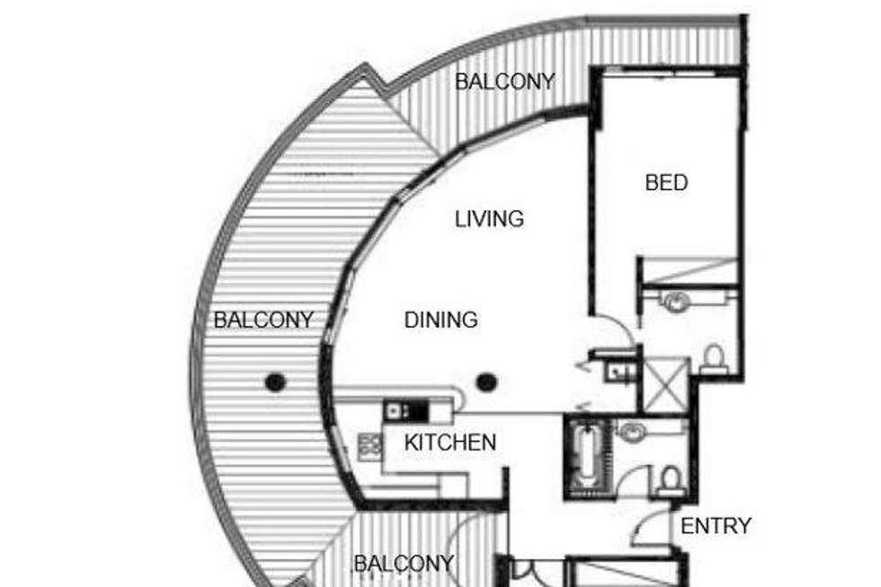 Floorplan of Homely apartment listing, 51/27 Bennelong Road, Wentworth Point NSW 2127