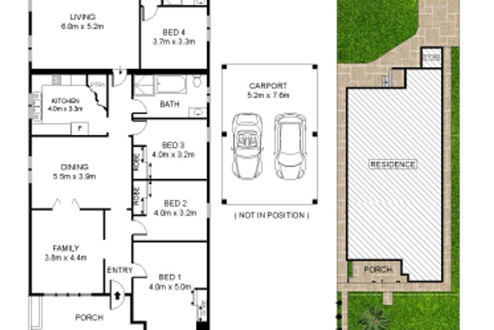 Floorplan of Homely house listing, 6 Broughton Street, Concord NSW 2137